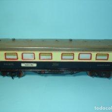 Trenes Escala: PAYA, COCHE CAMA PH. 1376, BICOLOR AZUL Y CREMA, CON LUZ, AÑOS 50. Lote 176423843