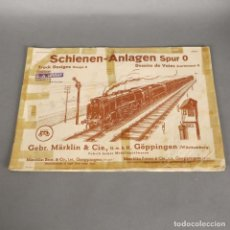Trenes Escala: CATÁLOGO MÄRKLIN 1939 SCHIENEN ANLAGEN SPUR 0. (BRD). Lote 177669295