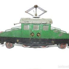 Trenes Escala: LOCOMOTORA COCODRILO ELECTRICA JOSFEL, ESCALA 0. AÑOS 40.. Lote 177702483