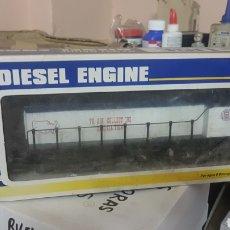 Trenes Escala: LOCOMOTORA DIESEL K-LINE DOS MOTORES, NUEVA. Lote 178284907