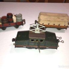 Trenes Escala: LOCOMOTORA MARKLIN CUERDA JOSFEL Y MANAMO. Lote 178287787