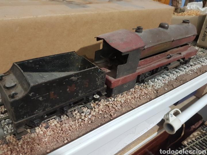 Trenes Escala: Locomotora Bowman vapor vivo escala 0 - Foto 3 - 178304342