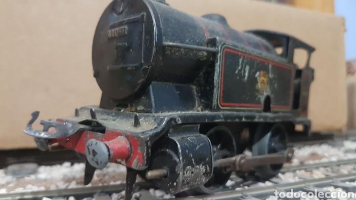 Trenes Escala: Locomotora Hornby de cuerda. Escala 0 - Foto 2 - 178304510