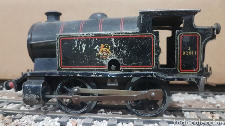 Trenes Escala: Locomotora Hornby de cuerda. Escala 0 - Foto 3 - 178304510