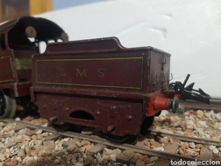 Trenes Escala: Locomotora y tender Hornby Mecano, a cuerda, escala 0 - Foto 2 - 178305320