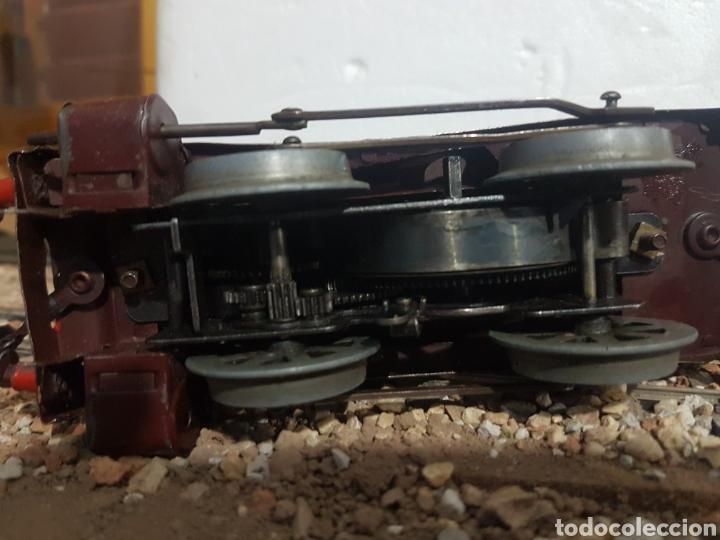 Trenes Escala: Locomotora y tender Hornby Mecano, a cuerda, escala 0 - Foto 3 - 178305320