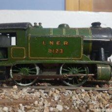 Trenes Escala: LOCOMOTORA HORNBY ESPECIAL, DE CUERDA. ESCALA 0. Lote 178367346