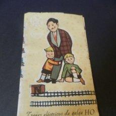 Trenes Escala: CATALOGO DE TRENES ELECTRICOS DE GALGA HO. Lote 178817898