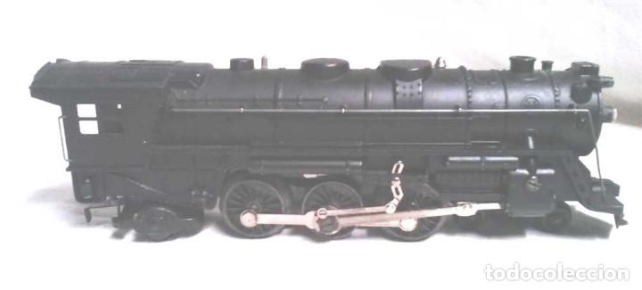 Trenes Escala: Locomotora Santa Fé y Vagón Carbonera New York Central Escala 0 - Foto 2 - 178952466