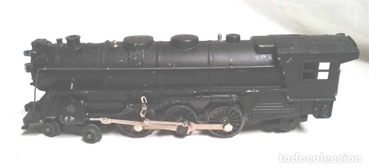 Trenes Escala: Locomotora Santa Fé y Vagón Carbonera New York Central Escala 0 - Foto 4 - 178952466