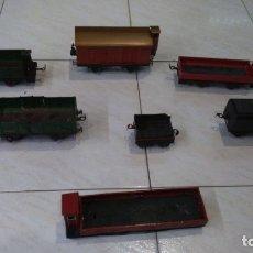Trenes Escala: VAGONES Y TENDER DE PAYA Y RICO, ESCALA 0. Lote 181219711