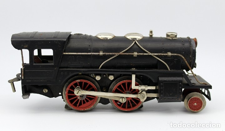 Trenes Escala: ANTIGUA LOCOMOTORA + TENDER 987 - PAYA - AÑOS 50 - ESCALA 0 - ELECTRICA - Foto 7 - 181536666