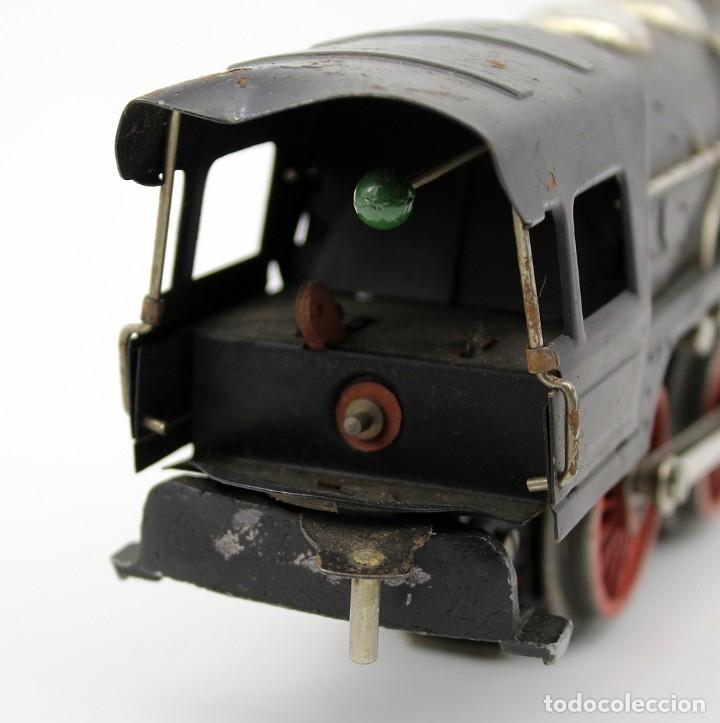 Trenes Escala: ANTIGUA LOCOMOTORA + TENDER 987 - PAYA - AÑOS 50 - ESCALA 0 - ELECTRICA - Foto 11 - 181536666
