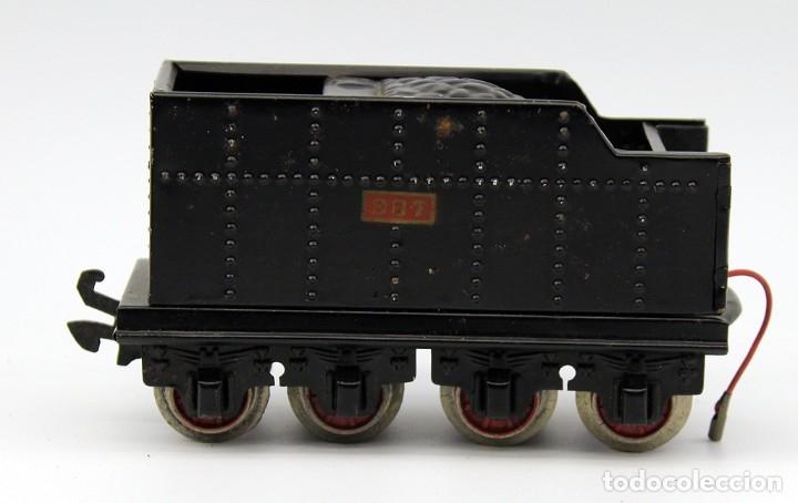 Trenes Escala: ANTIGUA LOCOMOTORA + TENDER 987 - PAYA - AÑOS 50 - ESCALA 0 - ELECTRICA - Foto 17 - 181536666