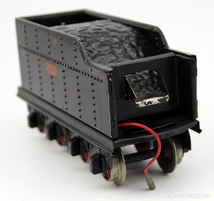 Trenes Escala: ANTIGUA LOCOMOTORA + TENDER 987 - PAYA - AÑOS 50 - ESCALA 0 - ELECTRICA - Foto 18 - 181536666