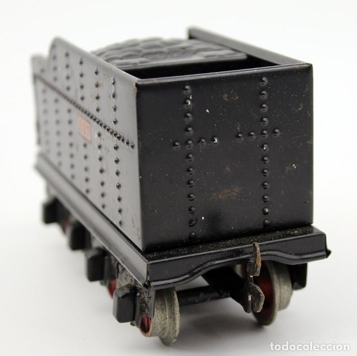 Trenes Escala: ANTIGUA LOCOMOTORA + TENDER 987 - PAYA - AÑOS 50 - ESCALA 0 - ELECTRICA - Foto 20 - 181536666