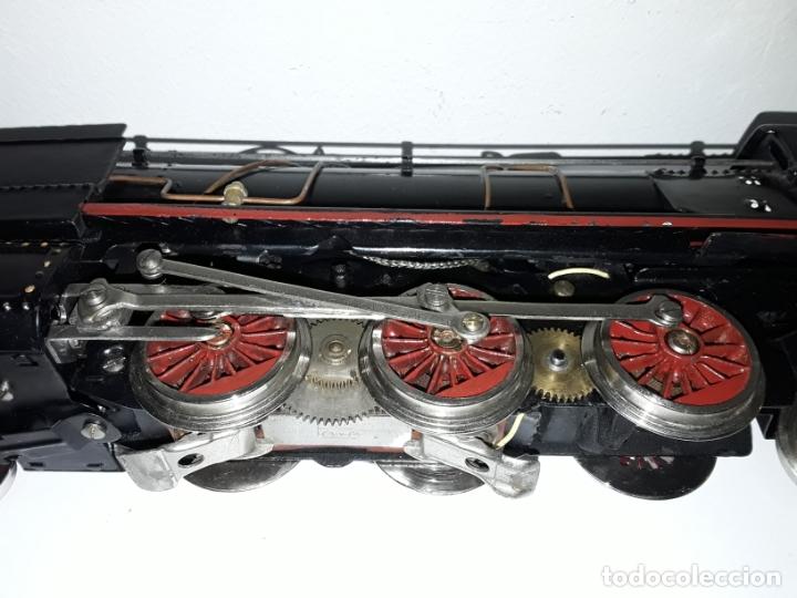 Trenes Escala: Antigua locomotora paya - Santa Fe 1101 escala 0 - Foto 6 - 181755515
