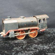 Trenes Escala: TREN LOCOMOTORA A CUERDA MARKLIN ESCALA 0. Lote 182910140