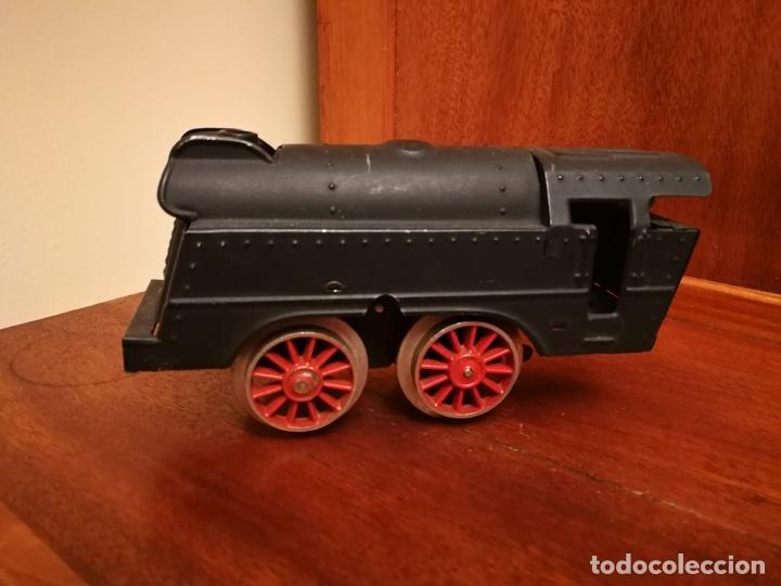 Trenes Escala: LOCOMOTORA PAYA VAPOR A CUERDA RARA ESCALA 0 - Foto 3 - 183758717