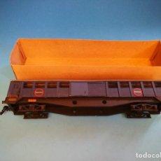 Trenes Escala: VAGON TRANSFESA MANAMO ESCALA 0 BOGIES. Lote 184644732