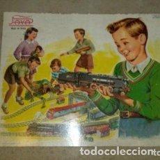 Trenes Escala: TREN PAYA LOCOMOTORA FANTASMA, TREN DE JUGUETE, TREN ANTIGUO, TREN PAYA ESCALA 0. Lote 186010991
