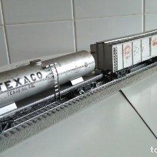 Trenes Escala: COMPOSICIÓN DE MERCANCÍAS ESCALA 0 MARCA JOSFEL.COMPATIBLE CON PAYÁ,RICO,MANAMO.. Lote 187225492