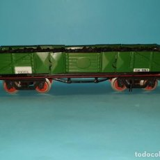 Trenes Escala: ANTIGUO VAGÓN TRANSPORTE DE CARBÓN DE PAYA, ESCALA 0., AÑOS 50.. Lote 187306987