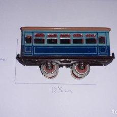 Trenes Escala: PAYA, VAGON PASAJEROS PAYA, TREN ANTIGUO, JUGUETE ANTIGUO, VAGON ESCALA 0. Lote 188682567