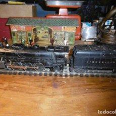 Trenes Escala: MAGNIFICO TREN ELECT. LOCO MAS TENDER, ESCALA 0 DE LIONEL. Lote 189578885