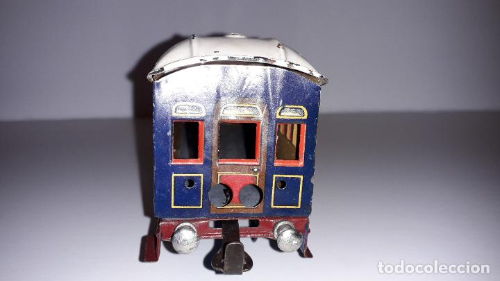 Trenes Escala: PAYA, VAGON TREN PAYA 1930, JUGUETE ANTIGUO, TREN DE JUGUETE , TREN PAYA - Foto 2 - 190555073