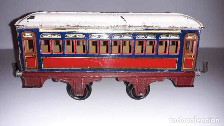 Trenes Escala: PAYA, VAGON TREN PAYA 1930, JUGUETE ANTIGUO, TREN DE JUGUETE , TREN PAYA - Foto 3 - 190555073