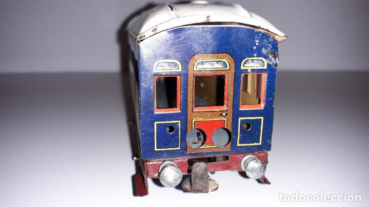 Trenes Escala: PAYA, VAGON TREN PAYA 1930, JUGUETE ANTIGUO, TREN DE JUGUETE , TREN PAYA - Foto 4 - 190555073