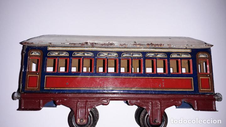 Trenes Escala: PAYA, VAGON TREN PAYA 1930, JUGUETE ANTIGUO, TREN DE JUGUETE , TREN PAYA - Foto 6 - 190555073