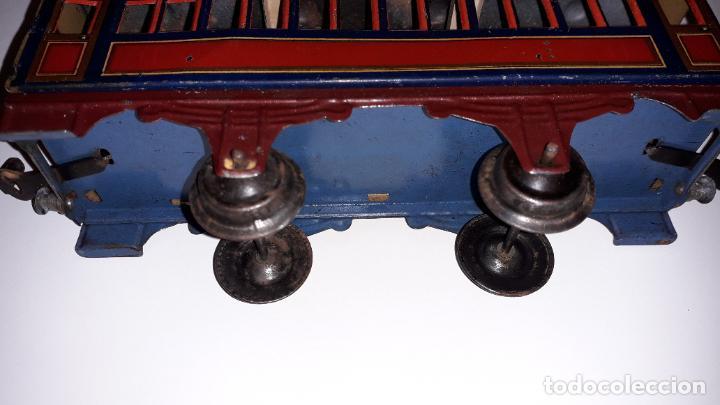 Trenes Escala: PAYA, VAGON TREN PAYA 1930, JUGUETE ANTIGUO, TREN DE JUGUETE , TREN PAYA - Foto 7 - 190555073