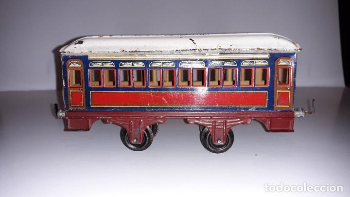 Trenes Escala: PAYA, VAGON TREN PAYA 1930, JUGUETE ANTIGUO, TREN DE JUGUETE , TREN PAYA - Foto 11 - 190555073