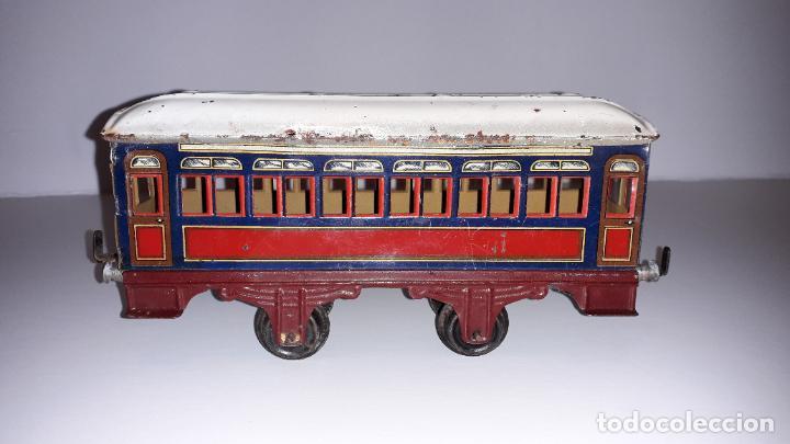 PAYA, VAGON TREN PAYA 1930, JUGUETE ANTIGUO, TREN DE JUGUETE , TREN PAYA (Juguetes - Trenes Escala 0)