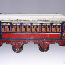 Trenes Escala: PAYA, VAGON TREN PAYA 1930, JUGUETE ANTIGUO, TREN DE JUGUETE , TREN PAYA. Lote 190555073
