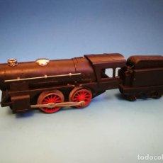 Trenes Escala: LOCOMOTORA PAYA 987 A CUERDA CON SILBATO ESCALA 0. Lote 190582673