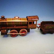 Trenes Escala: LOCOMOTORA PAYA 896 A CUERDA VERDE ESCALA 0. Lote 190583218
