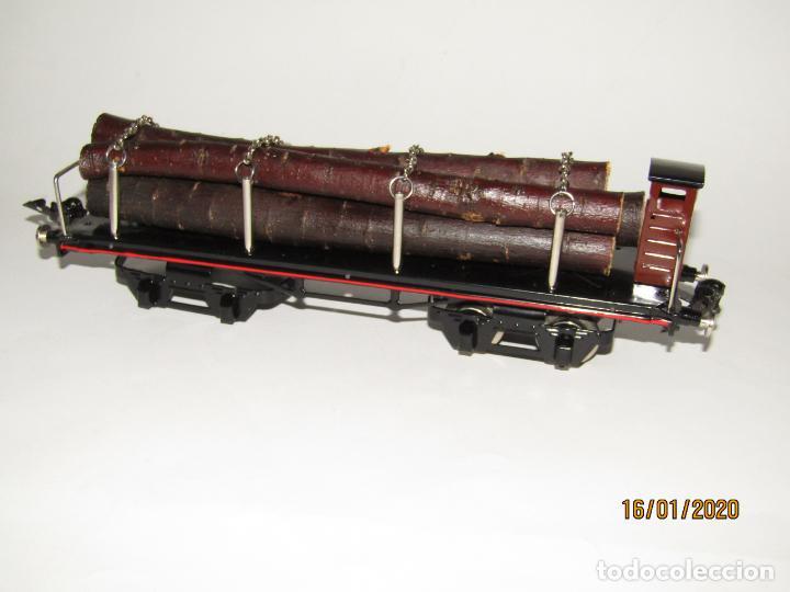 Trenes Escala: Vagón 4 Ejes a Bogies en Escala *0* de PAYA Ref. 11351 Edición Limitada y Numerada - Foto 2 - 191177543