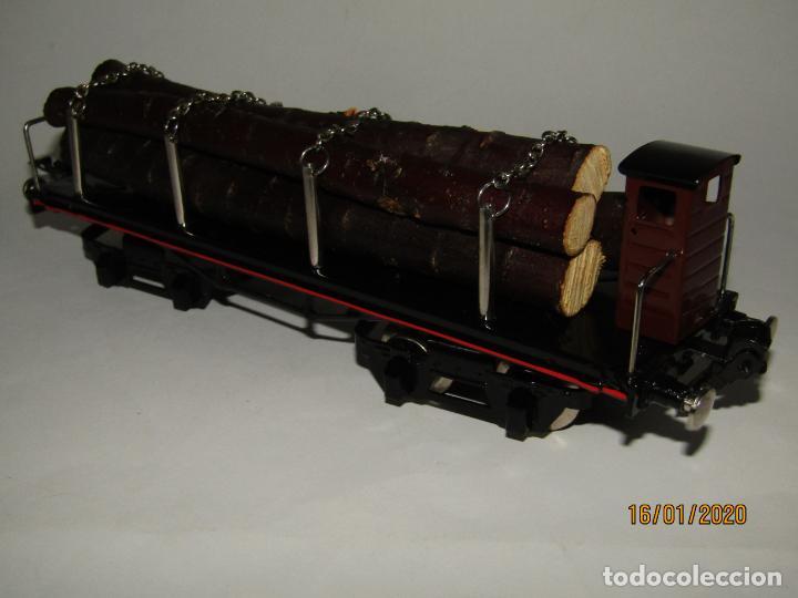 Trenes Escala: Vagón 4 Ejes a Bogies en Escala *0* de PAYA Ref. 11351 Edición Limitada y Numerada - Foto 4 - 191177543