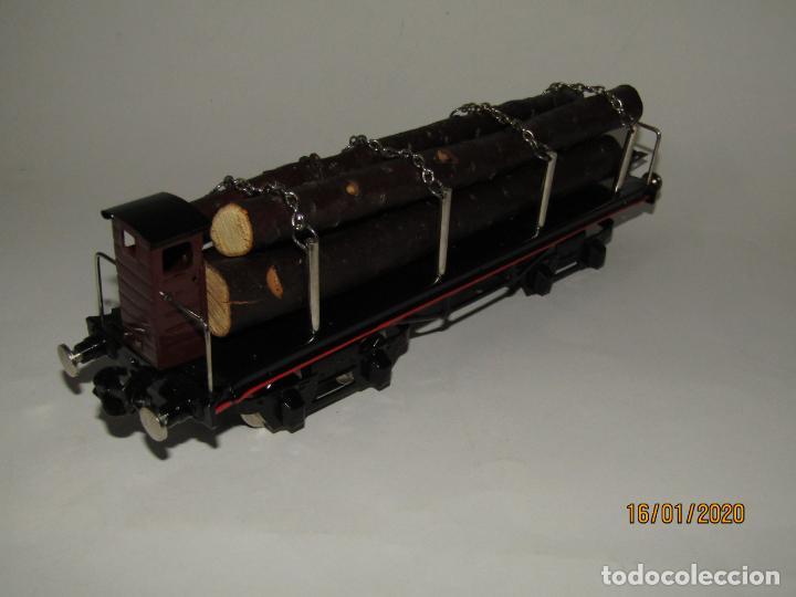 Trenes Escala: Vagón 4 Ejes a Bogies en Escala *0* de PAYA Ref. 11351 Edición Limitada y Numerada - Foto 5 - 191177543