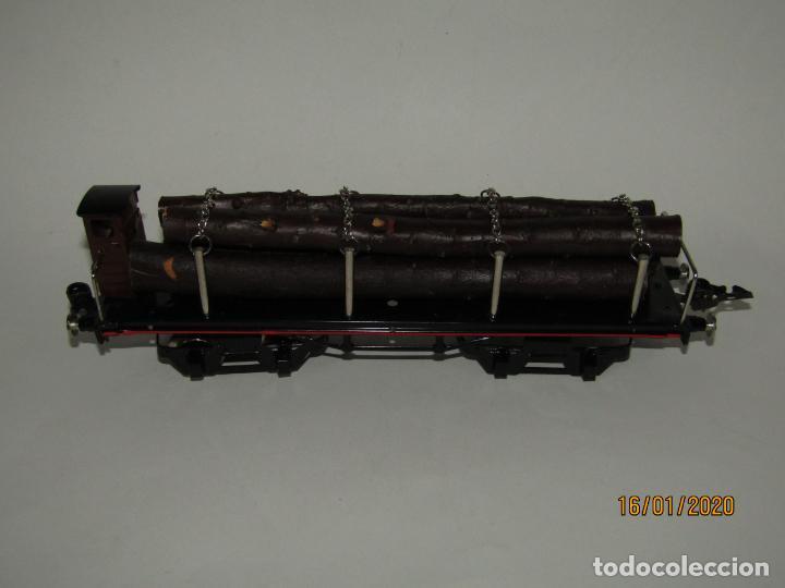 Trenes Escala: Vagón 4 Ejes a Bogies en Escala *0* de PAYA Ref. 11351 Edición Limitada y Numerada - Foto 6 - 191177543