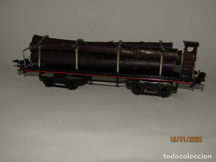 Trenes Escala: Vagón 4 Ejes a Bogies en Escala *0* de PAYA Ref. 11351 Edición Limitada y Numerada - Foto 8 - 191177543