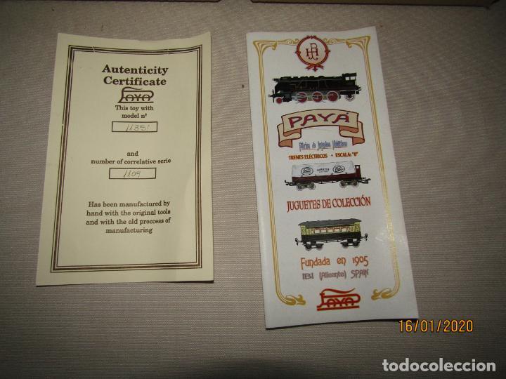 Trenes Escala: Vagón 4 Ejes a Bogies en Escala *0* de PAYA Ref. 11351 Edición Limitada y Numerada - Foto 9 - 191177543