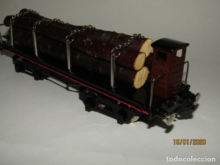 Trenes Escala: Vagón 4 Ejes a Bogies en Escala *0* de PAYA Ref. 11351 Edición Limitada y Numerada - Foto 11 - 191177543