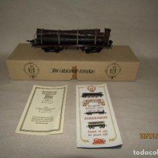Trenes Escala: VAGÓN 4 EJES A BOGIES EN ESCALA *0* DE PAYA REF. 11351 EDICIÓN LIMITADA Y NUMERADA. Lote 191177543