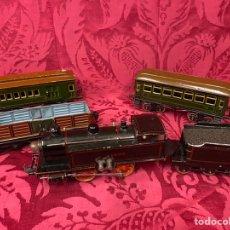 Trenes Escala: TREN BING. CON VAGONES. Lote 191606528