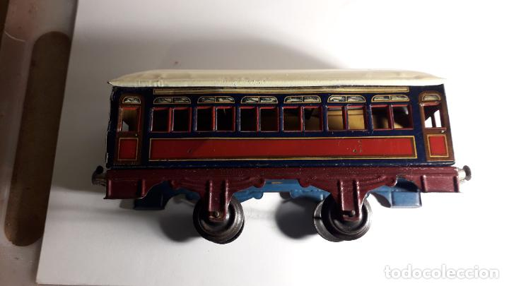 Trenes Escala: PAYA, VAGON TREN PAYA 1930, JUGUETE ANTIGUO, TREN DE JUGUETE , TREN PAYA - Foto 12 - 190555073