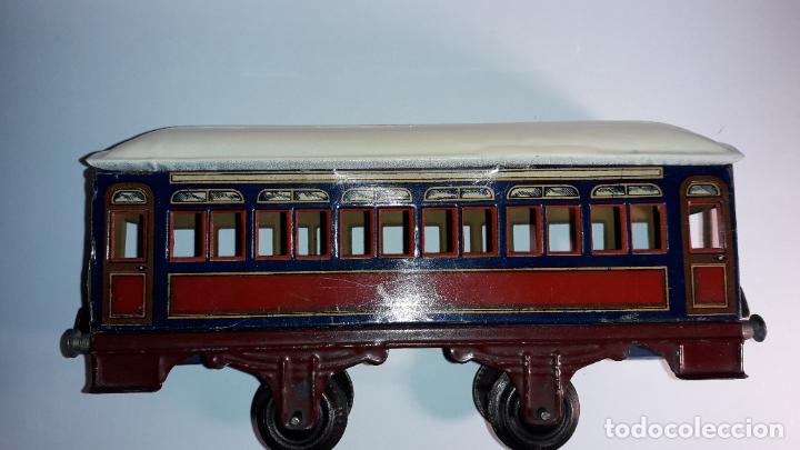 Trenes Escala: PAYA, VAGON TREN PAYA 1930, JUGUETE ANTIGUO, TREN DE JUGUETE , TREN PAYA - Foto 13 - 190555073